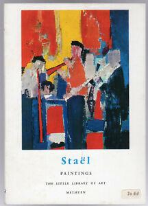 Nicolas De Stael - Paintings by Guichard-Meili, Jean (P/B 1966 1st Edition)