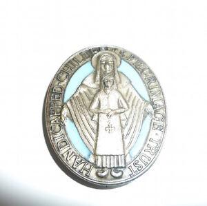 Handicapped Children's Pilgrimage Trust Base Metal & Enamel Badge