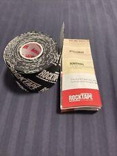 """RockTape Kinesiology Tape 2"""" Black CrossFit"""