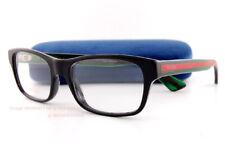 Brand New GUCCI Eyeglass Frames GG 0006/O  002 Black For Men Women