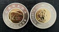 Canada 2006 Double Date Specimen Gem UNC Toonie!!
