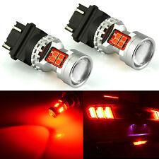JDM ASTAR 2x 13-SMD 3157 Red Brake Tail Stop Turn Lights Super Bright LED Bulbs