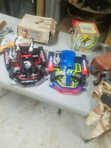 Vintage Team Edge R/C Dale Earnhardt Sr Go Cart Jeff Gordon  UNTESTED