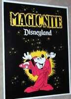 Disneyland 1979 POSTER Magic Nite Walt Disney Mickey Mouse Sorcerer's Apprentice