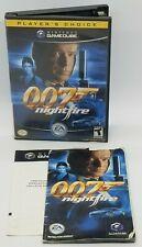 007: NightFire (Nintendo GameCube, 2002) COMPLETE BLACK LABEL!
