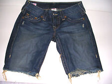 TRUE RELIGION DISTRESSED TAYLOR SHORTS SIZE 27