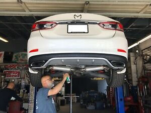 2014 Mazda6 Rear Diffuser VHTF Rare 2015 2016 Mazda Exhaust Tips