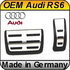OEM Audi A6 S6 RS6 C6 Aluminium Sport Pedal Kit Automatic only for LHD cars