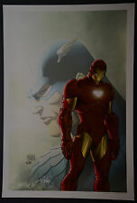 Iron man Michael Turner Aspen Art Print
