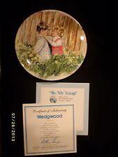Bradford Exchange Wedgwood 'Be My Friend' #1 in My Memories Series Cp43