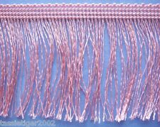 75mm Pink Rayon Fringe