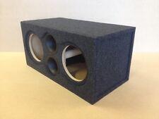 """Custom Ported Sub Box Subwoofer Enclosure for 2 8"""" Skar Audio ZVX-8 Subs - 36 HZ"""