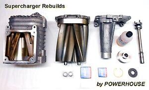 Jaguar XJR XKR S-Type R XFR Eaton 4.2 M112 Supercharger Rebuild & 10% Pulley