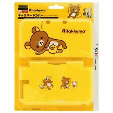 New Nintendo 3DS LL XL Hard Case Cover Rilakkuma SAN-X Yellow from Japan