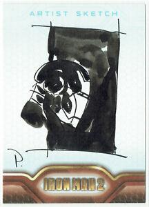 Iron Man 2 Movie Upper Deck 2010 Sketch Card 1/1 Artist Mark Pennington (c)