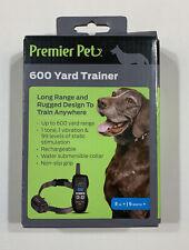 Premier Pet 600 Yard Remote Trainer - Waterproof, Rechargeable, 8lb +/ 6Months +