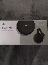 Google Smart TV Kit: Google Home Mini and Chromecast, Walmart Exclusive Black