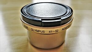 OLYMPUS M41-52 Adapter with Front Lens Cap