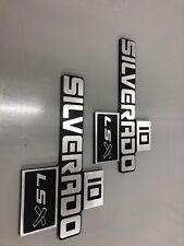 1981-1987 Chevy C10 Silverado LSX Truck Billet Emblems
