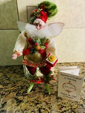 "Mark Roberts Christmas ""Pastry Shop Fairy"" Limited Edition Size Small"