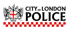 3x6 inch WHITE City of London Police Bumper Sticker - crest officer uk england