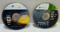 XBOX 360 HALO 3 & HALO REACH DISC ONLY GAME LOT TESTED WORK GREAT FREE SHIP !@!@