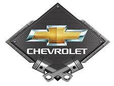 NEW CHEVROLET GM CAMARO - CROSSED PISTONS STEEL SIGN-BLBOW2010- PhotoSTEEL