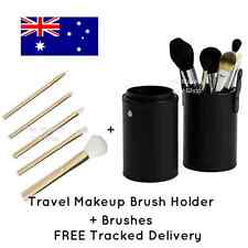 Travel Makeup Brush Holder Storage and Brushes
