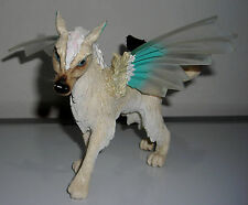 "SCHLEICH 70469 BAYALA ELFEN MOHINYA WOLF WITH WINGS 6"" FIGURINE TOY FIGURE"