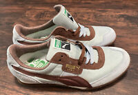 "Puma LAB II Women's Sneakers Suede Shoes Light Blue/ Brown Size 7 ""Pre-Owned"""