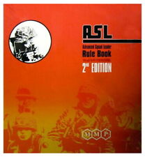 ASL Rulebook 2nd Edition Advanced Squad Leader Full Size With Binder 2020 Print