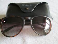 Polaroid brown tortoiseshell frame polarized sunglasses. PLD6003/NS. With case.