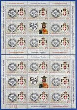 Rumanía Romania 2012 ejércitos smom emblema joint issue pequeños arcos I/II mnh