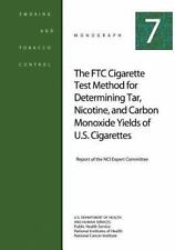 FTC Cigarette Test Method for Determining Tar, Nicotine, and Carbon Monoxide ...