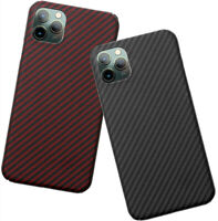 Real Carbon Fiber Ultra Slim Light Case Full Cover For 2019 iPhone 11 Pro Max