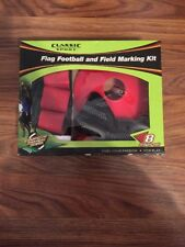 Classic Sport Flag Football And Field Marking Kit 8 Player Set