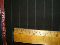 "4.6 yd HOLLAND SHERRY WOOL FABRIC Crispaire Super Fine 9.5 oz SUITING 166"" BTP"
