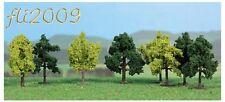 * Heki scala N/Z 1140 8 alberi decidui 4 cm verdi con piedistallo