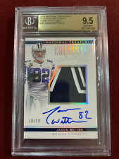 Jason Witten 2018 National Treasures Patch Auto Holo Gold 10/10 BGS 9.5/10