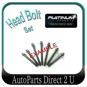 Mazda 323 BA11 2.0L & 626 GE10 2.5L & MX6 2.5L Head Bolt Set