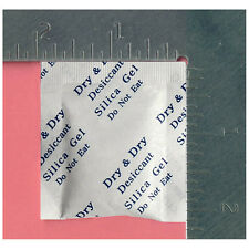 2g X 6,000 EA SILICA GEL PACKETS DESICCANT - DRYOUT MOISTURE ABSORBER IN BULK