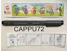 YOGI BEAR (Cartina) K96-50 smontabili Yogi bear kinder sorpresa 1995