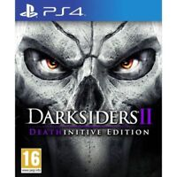 Darksiders 2 II Deathinitive Edition PS4 Playstation 4 - MINT - Super FAST Deliv