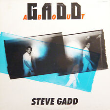 STEVE GADD Gaddabout JAP Press Electric Bird K28P 6314 1984 LP