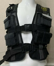 GOLDS GYM WEIGHTED Workout Exercise VEST - Weight is 20 POUNDS - 20 Weights