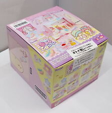 Miniatures Sanrio Little Twin Stars Girl Room Sundry Box Set - Re-ment , h#3ok