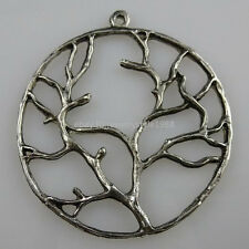 10490 10PCS Alloy Tree of Life Branch Pendant Jewelry Finding Vintage Style