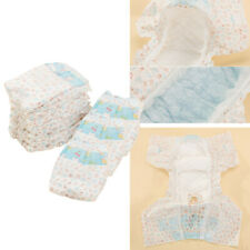 10 Pieces Dog Diaper Wraps Nappy Underwear Wetness Indicator XXS/XS/S/M/L/XL