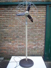 Antique Vintage Pedestal Marelli Electric Fan revised