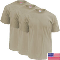 Soffe 3-Pack SAND OCP T-Shirt, 100% Cotton - Made in USA